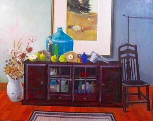 「草原の記憶」 油彩 サイズ F100号
